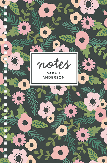 journals - Forest Florals by August and Oak