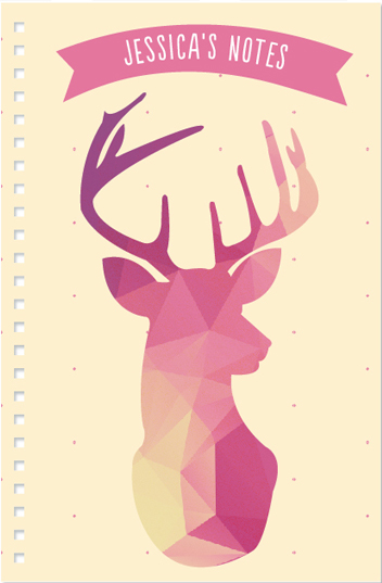 journals - Oh, my deer! by Fabia Moura