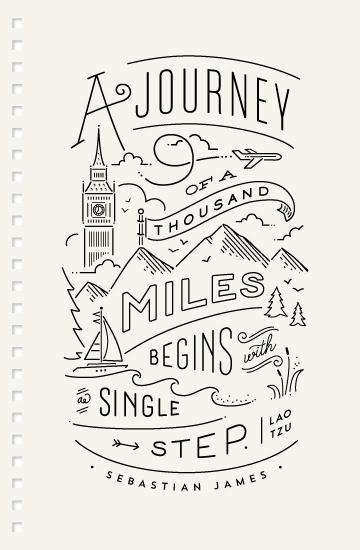journals - The Journey by Jennifer Wick