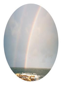 Double rainbow in PG