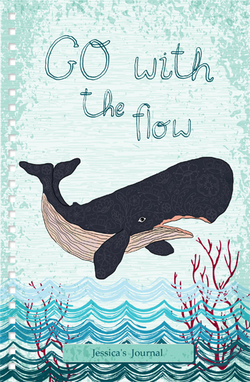journals - Go With The Flow by Yvette Slaney