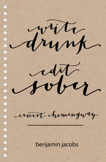 journals - Write Drunk by Manayunk Calligraphy