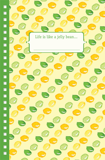 journals - Jelly Beans by Yvette Slaney