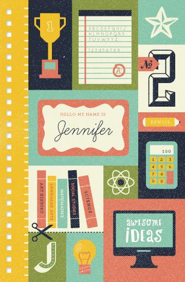 journals - School's In by Pace Creative Design Studio