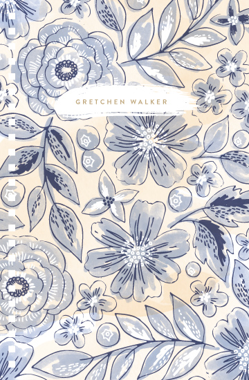 journals - Watercolor Wash Floral no. 2 by Alethea and Ruth