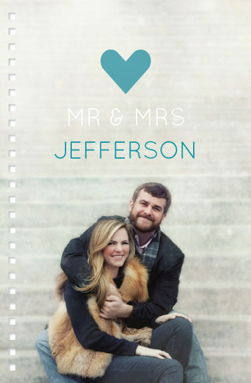 journals - Mr and Mrs by Bethan