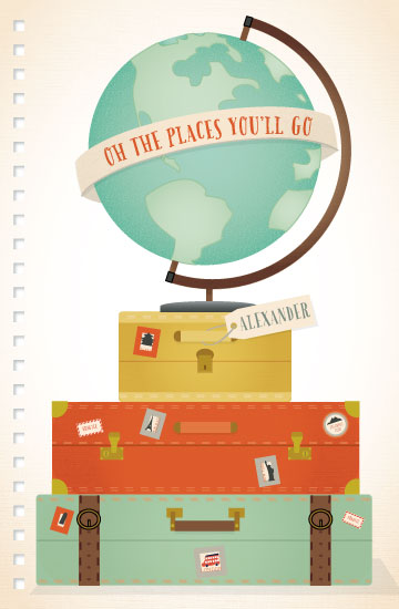 journals - Oh the Places by Grace Kreinbrink