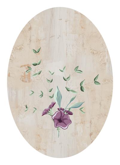 art prints - vintage modern floral by Erin Niehenke