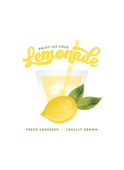 art prints - Fresh Lemonade by Erica Krystek
