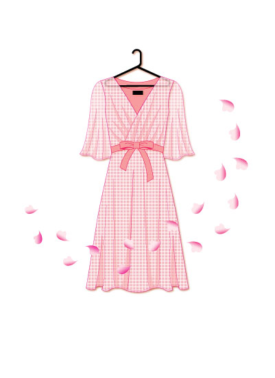 art prints - lovely pink dress by Seo Yoon Jung