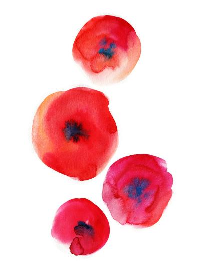 art prints - Stylish red by Alexandra Dzh
