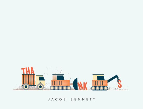 personal stationery - Trucker Appreciation by Erica Krystek