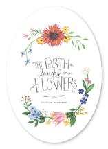 The Earth Laughs in Flo... by Calico Hill Creative