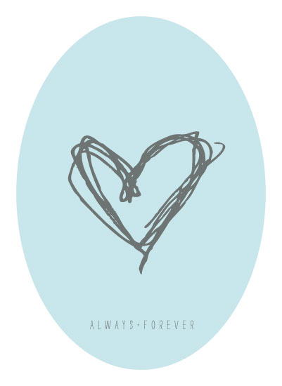 art prints - Always+Forever by The Spotted Olive