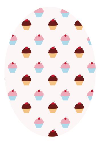 art prints - Cupcake Sea by Fabia Moura