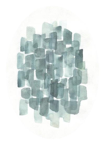 art prints - Steely Blues by Tennyson Tippy