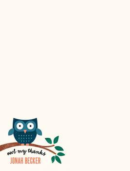Owl My Thanks