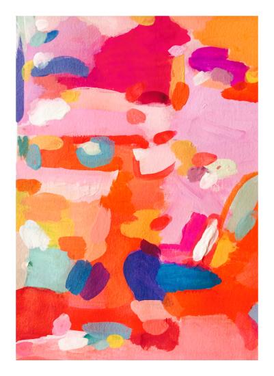 art prints - Orange Rush by Lisa McLean