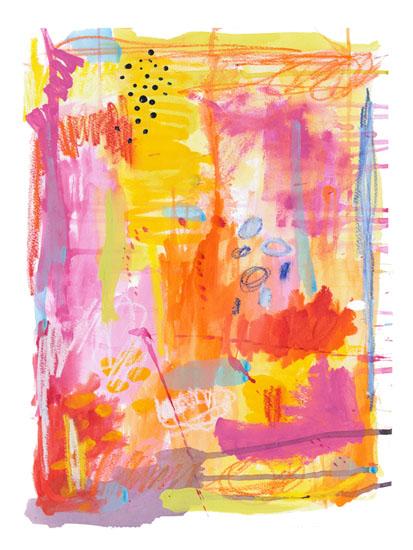 art prints - Beginnings by Lesley Grainger