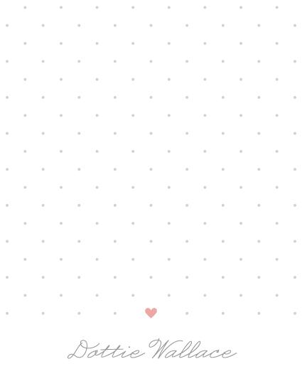personal stationery - Polka Dottie by Kim Dietrich Elam