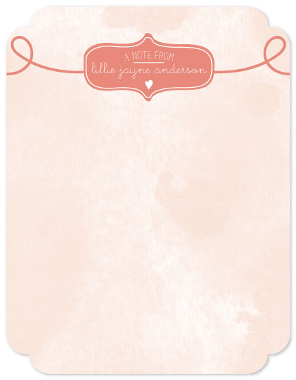 personal stationery - Whimsy by The Spotted Olive