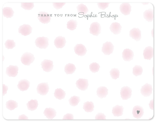 personal stationery - Playful Dots by The Spotted Olive
