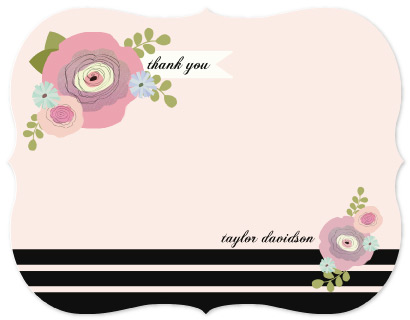personal stationery - Smell the roses by Alison Jerry Designs