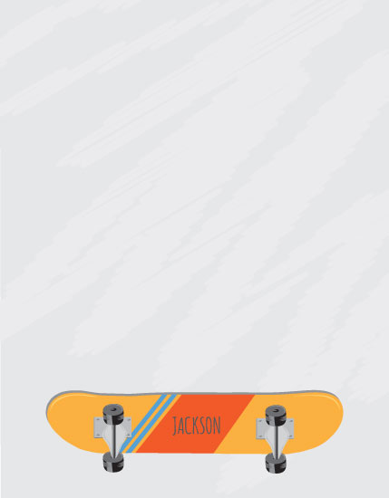 personal stationery - Skateboard Notes by Rose Design