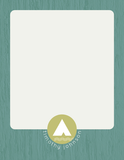 personal stationery - Tent Logo by Erin Niehenke