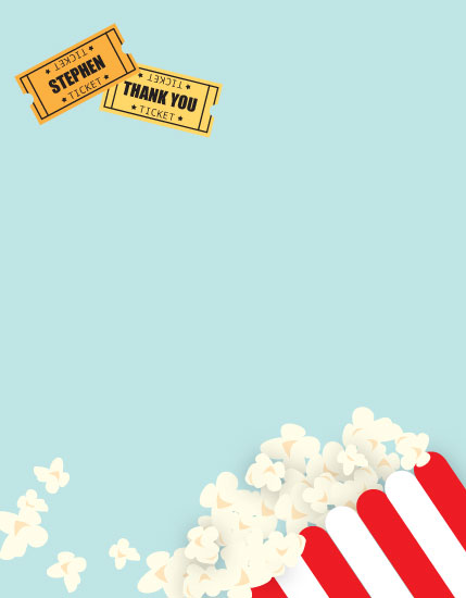 personal stationery - Movie Notes by Rose Design