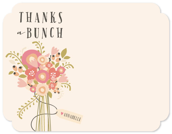 personal stationery - Thankful Bunch by Grace Kreinbrink