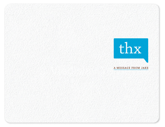 personal stationery - thxbubble by Sloan