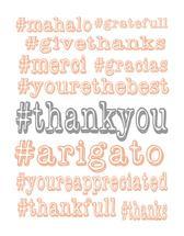 #thankyou by Melissa Jensen