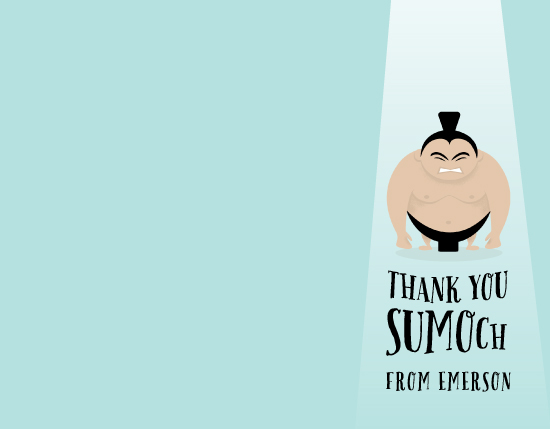 personal stationery - sumo by Susan Asbill