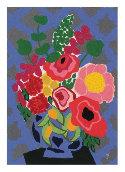art prints - Foraged Wildflowers by Theresa Drapkin