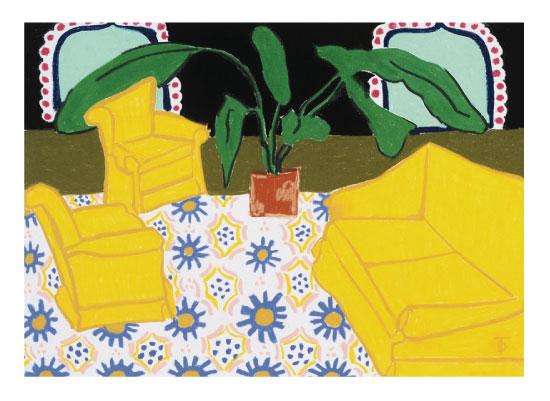 art prints - Moroccan Coffee by Theresa Drapkin