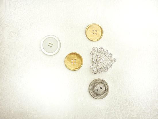 art prints - Button and Brooch by Jessamy Tsoris