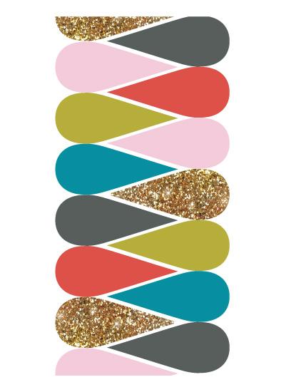 art prints - Glitter Drops by Melissa DiRenzo