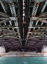 Water under the bridge by Elizabeth Roos