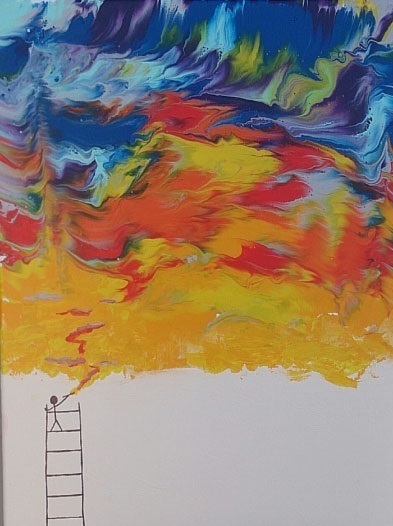 art prints - Let there be color in your life by Angel Hollingsworth