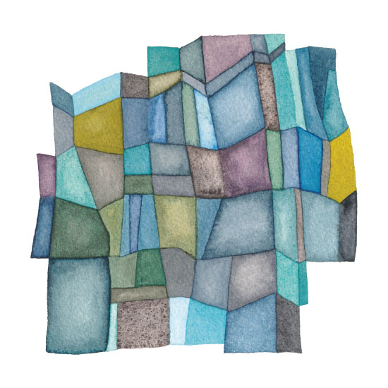 art prints - Segmented by Pip Gerard