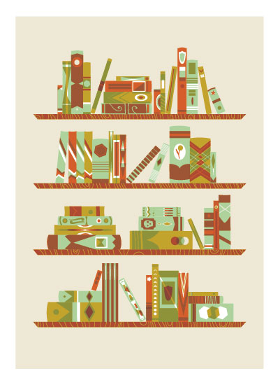 art prints - Old Library by Erin Wallace