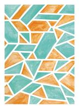 Watercolor Gems by Kate Locke