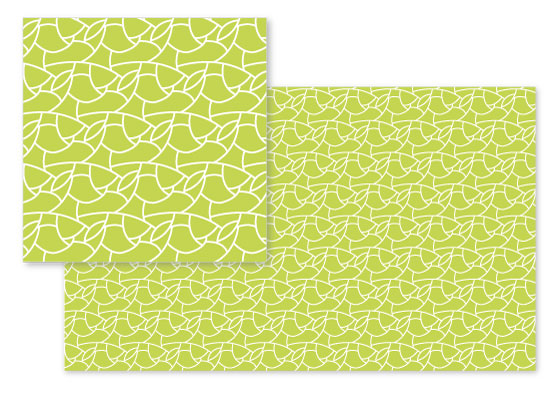 fabric - Cha-Cha-Chartreuse by Brittany Luiz