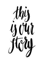 This Is Our Story by Eliza Cerdeiros