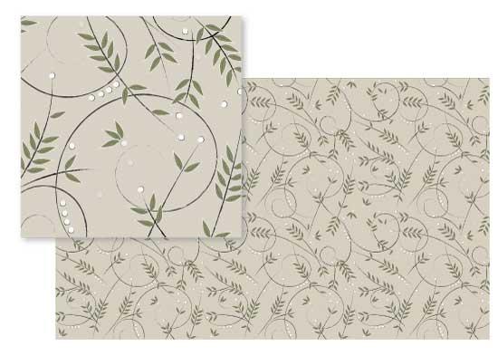 fabric - just twigs by Liluna