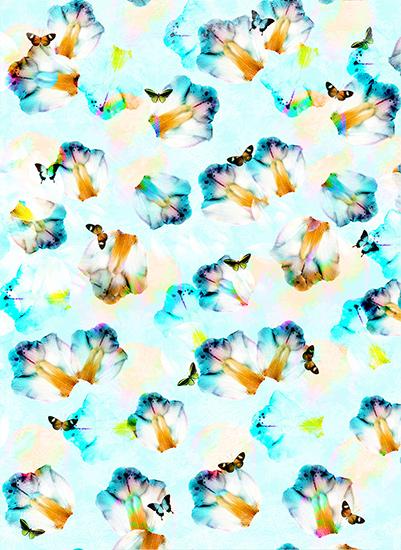 art prints - Butterfly fields by Maria Montiel