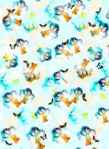 Butterfly fields by Maria Montiel