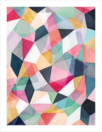 art prints - Kaleidoscope No.1 by Hooray Creative