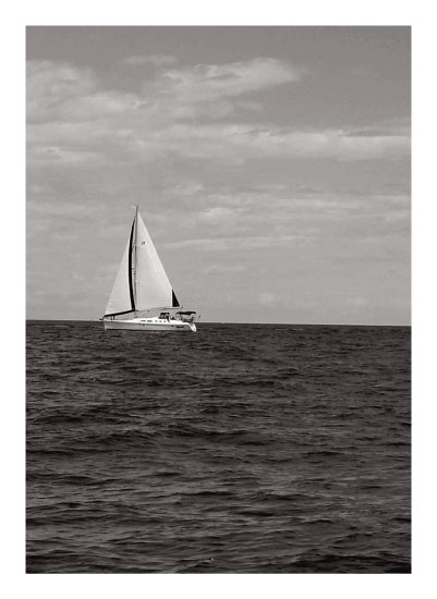 art prints - I'm on a boat by Melissa Gottlieb